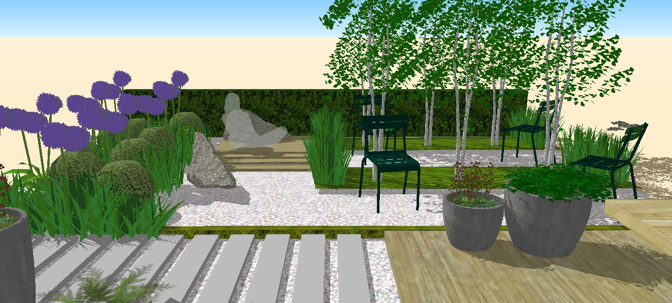 PRIVATE RESIDENCE GARDEN DESIGN SEOUL SOUTH KOREA 1